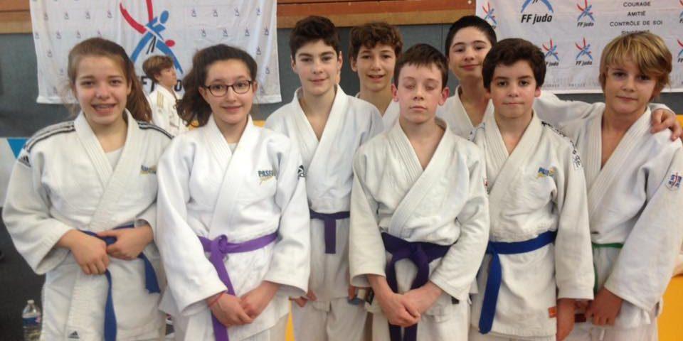 les minimes de passions judo 35