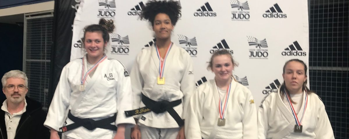 Fiona passion judo 35, remporte la médaille d'or